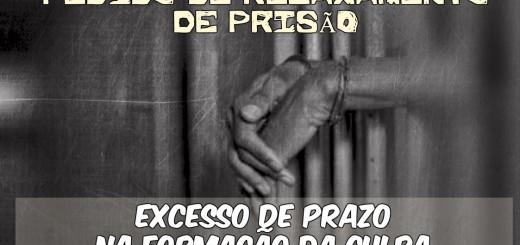 Modelo de Pedido de Relaxamento de Prisão por Excesso de Prazo na Formação da Culpa