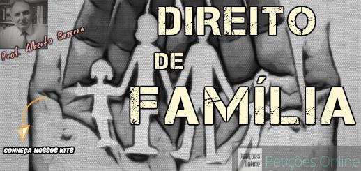 Kits de Petições de Direito de Família