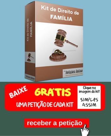 Kit Direito de Família - Baixar uma petição grátis