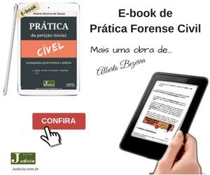 Livro Prática da Petição Inicial: Cível Conforme Novo CPC Ed 2017 Alberto Bezerra