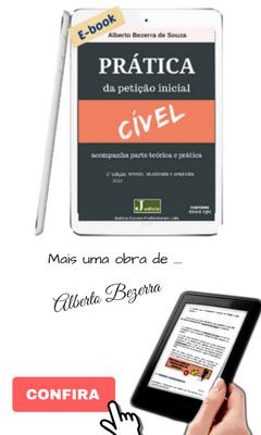 Livro Prática da Petição Inicial: Cível Conforme Novo CPC Prof Alberto Bezerra Ed. 2017