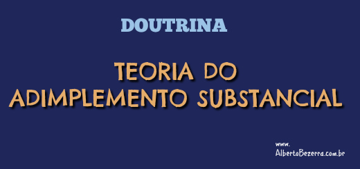Teoria do Adimplemento Substancial Doutrina 520X245